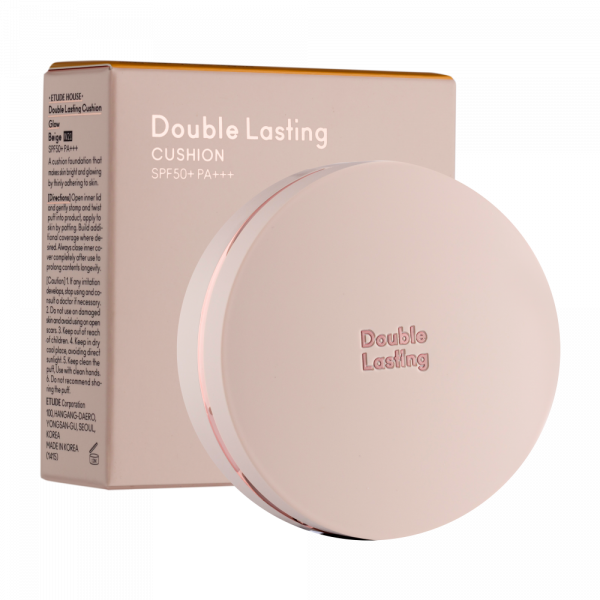 ETUDE HOUSE Double Lasting Cushion Glow Beige W21