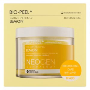 NEOGEN BIO-PEEL GAUZE PEELING LEMON 2.48 oz _ 76ml 8 PADS
