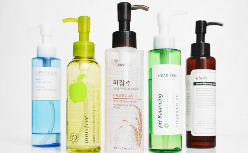 Best Korean Cleansing Oils
