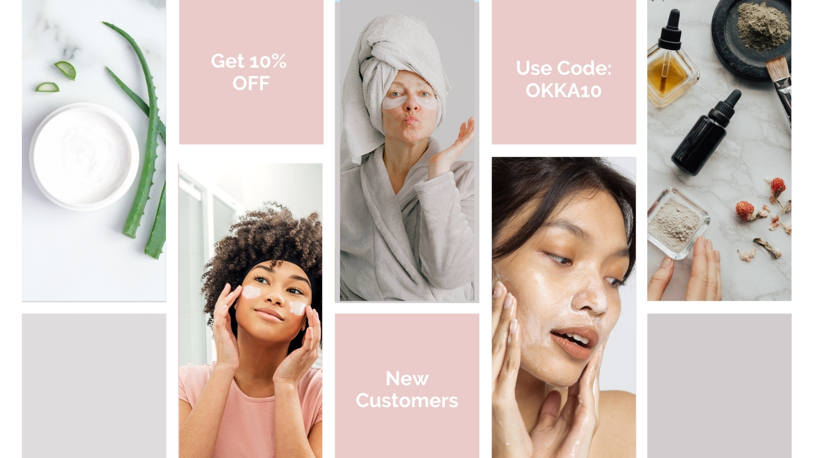 10% OFF FOR NEW CUSTOMER