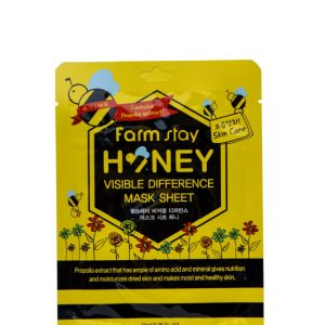 FARMSTAY HONEY VISIBLE DIFFERENCE MASK SHEET