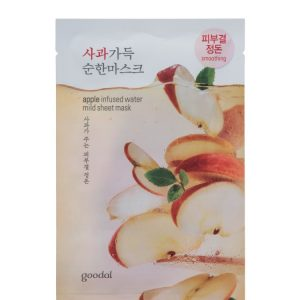 Goodal apple infused water mild sheet mask