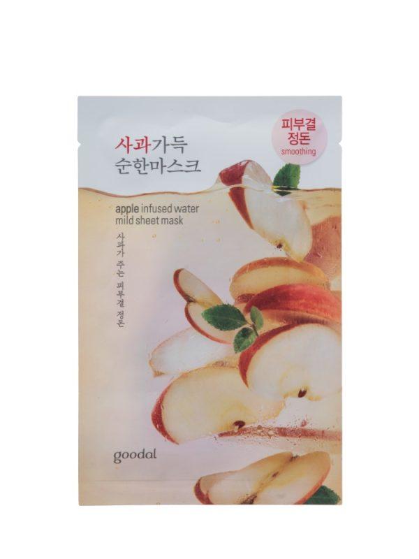 Goodal apple infused water mild sheet mask