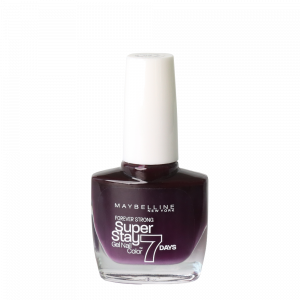 Maybelline Superstay 7 Days Gel Nail Polish – 05 Extreme Black Current