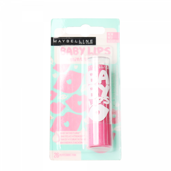 MAYBELLINE BABY LIPS LIP BALM PEPPERMINT PINK_1