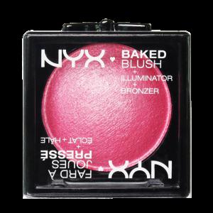 NYX BAKED BLUSH + ILLUMINATOR + BRONZER_1