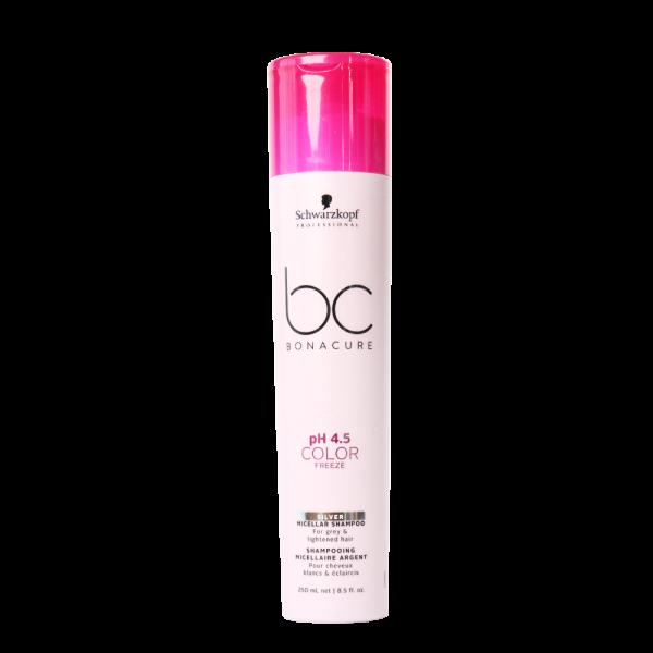 Schwarzkopf BC Bonacure pH4.5 Color Freeze Micellar Shampoo 250ml – White Hair_1