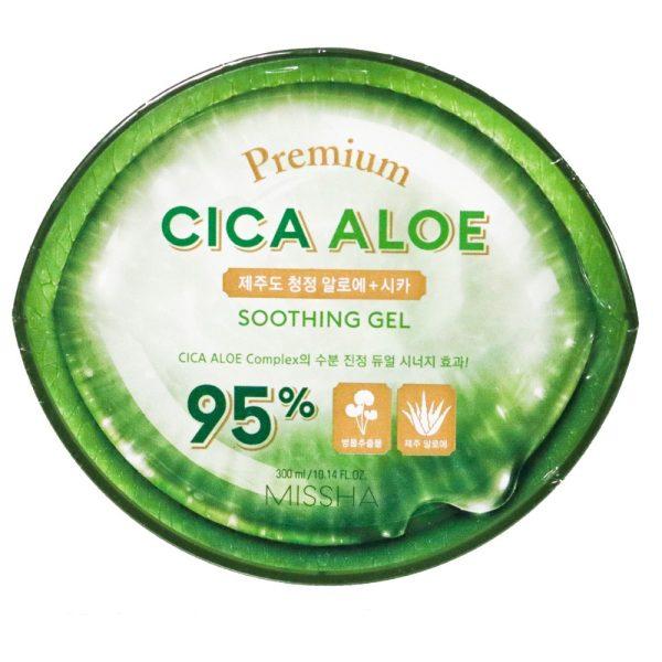 Premium Cica Aloe Soothing Gel 95% 300ml